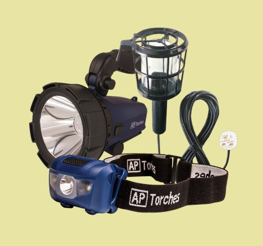 Torches, Worklights & Security Lights