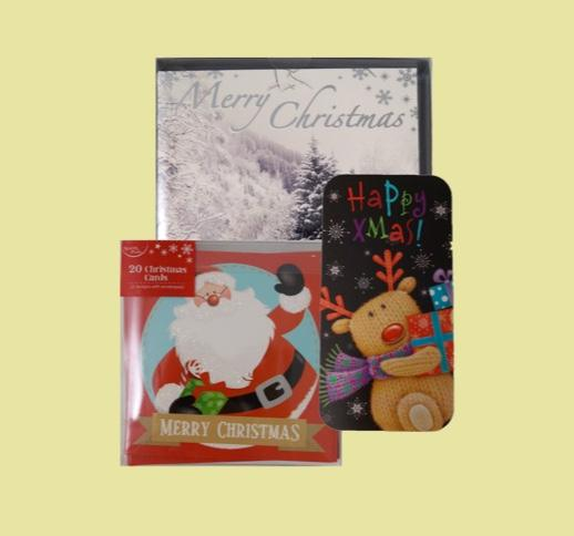 Christmas Cards, Money Wallets & Gifting