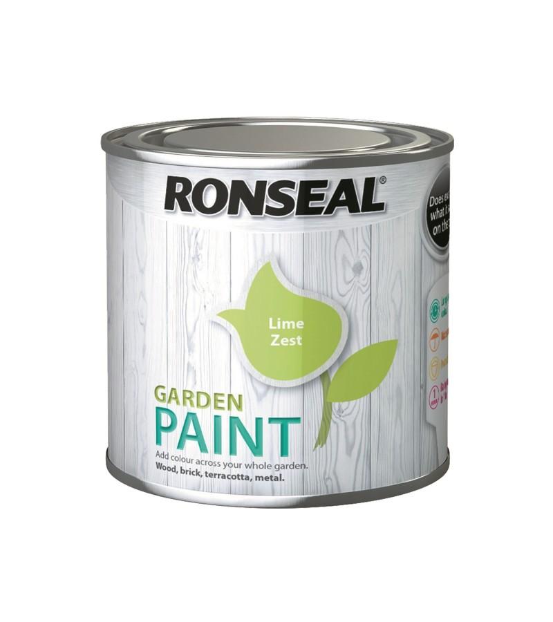 Ronseal Garden Paint 250ml Lime Zest