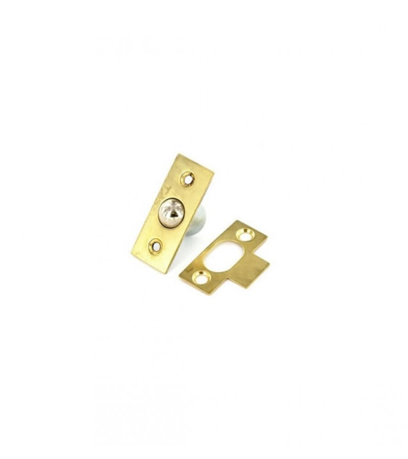Securit S5424 19mm Bales Catch (Brass Plated)