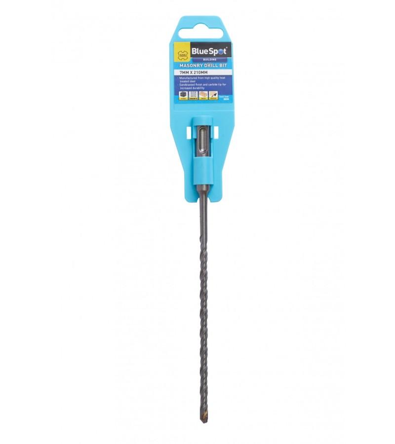 Blue Spot SDS Masonry Drill Bit 7mm x 210mm