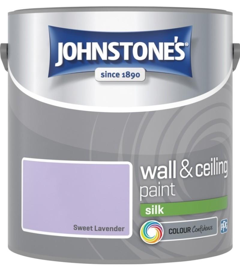 Johnstones Vinyl Emulsion Paint 2.5L Sweet Lavender Silk