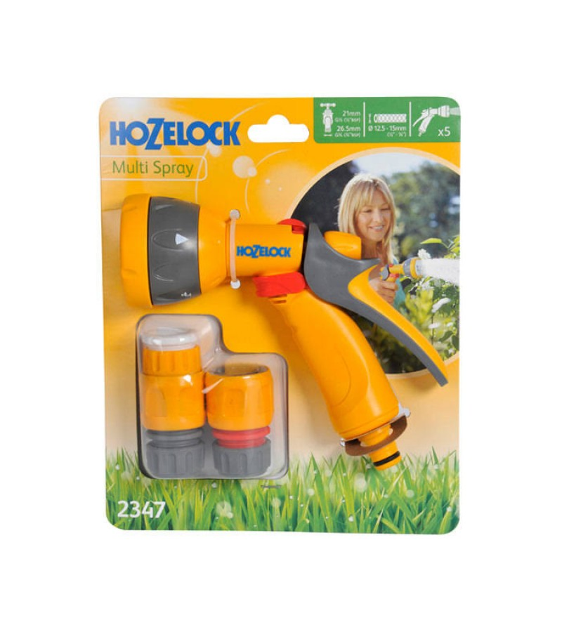 Hozelock 2347 Multi-Pattern Spray Gun Starter