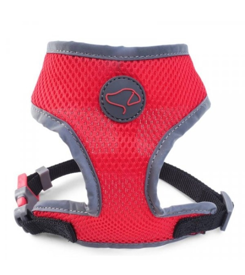 XXS (30cm-42cm) WalkAbout Dog Comfort Harness - Red