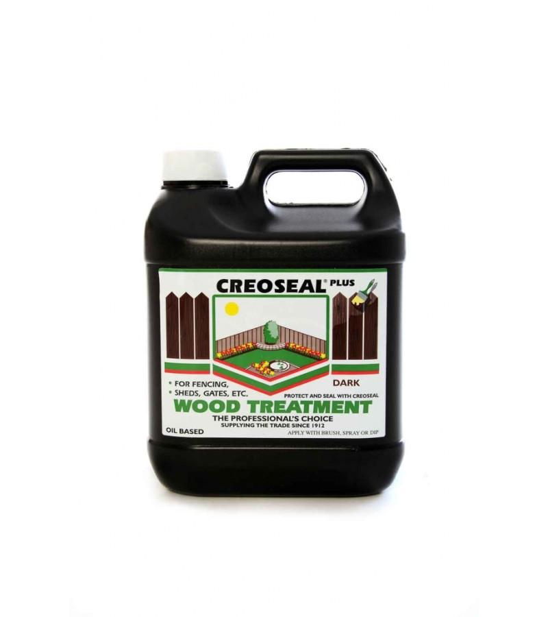 Creoseal Wood Treatment 4L Dark Brown