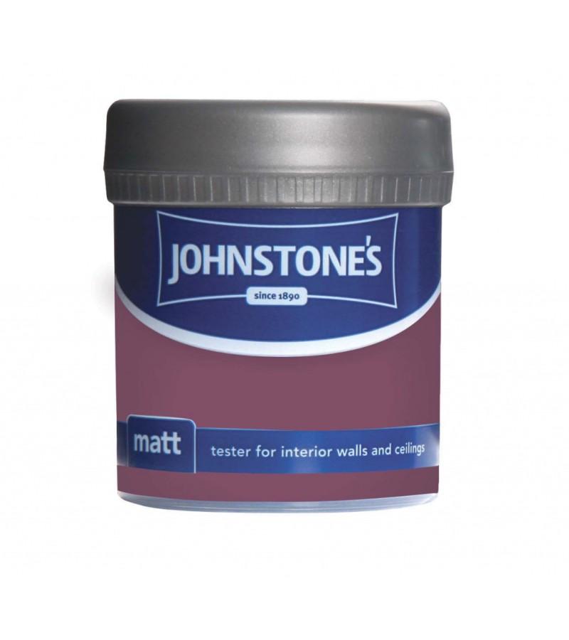 Johnstones Vinyl Emulsion Tester Pot 75mlDeep Amethyst (Matt)