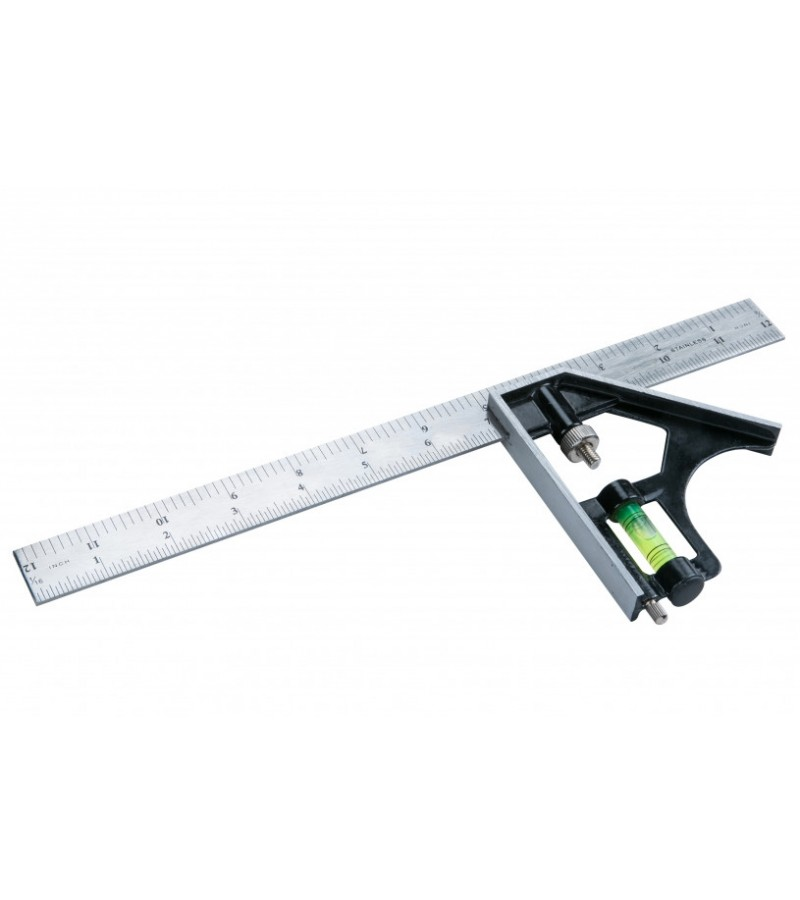 "BlueSpot 300mm (12"") Heavy Duty Combination Square"