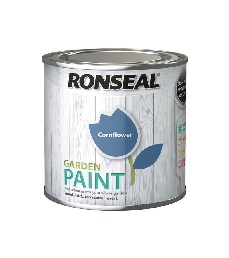 Ronseal Garden Paint 750ml Cornflower