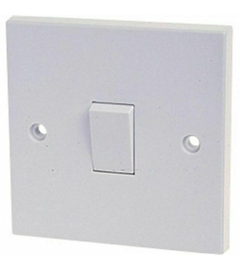 Dencon 10 Amp 1 Gang 1W Switch (4401NB)