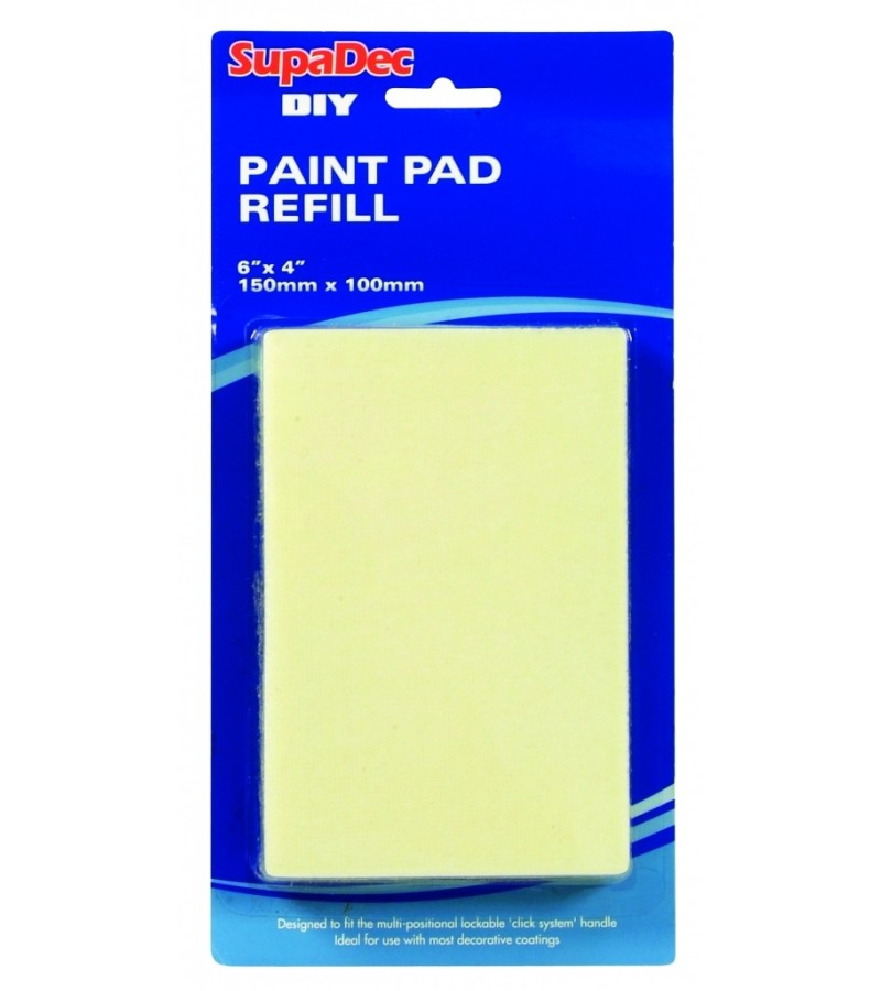 SupaDec DIY Paint Pad Refill 150mm x 100mm