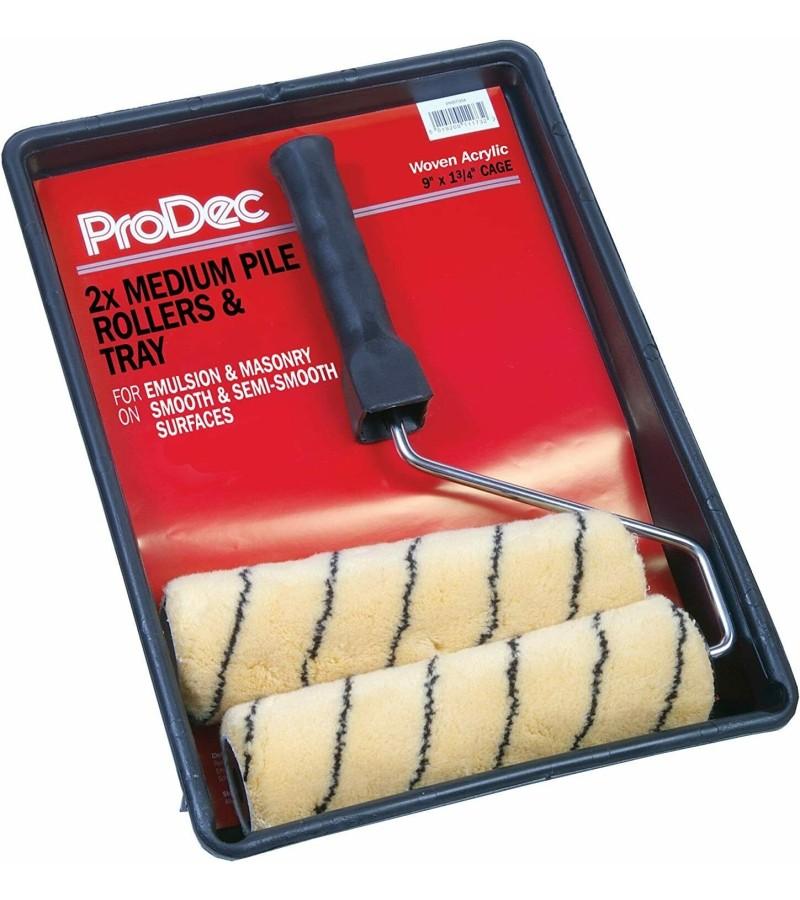 "Prodec 9""  Medium Pile Roller & Tray"