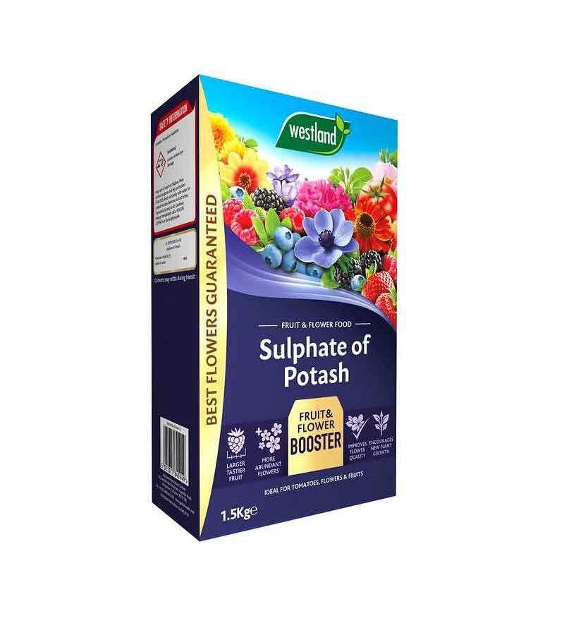 Westland Sulphate of Potash Fruit & Flower Food 1.5KG