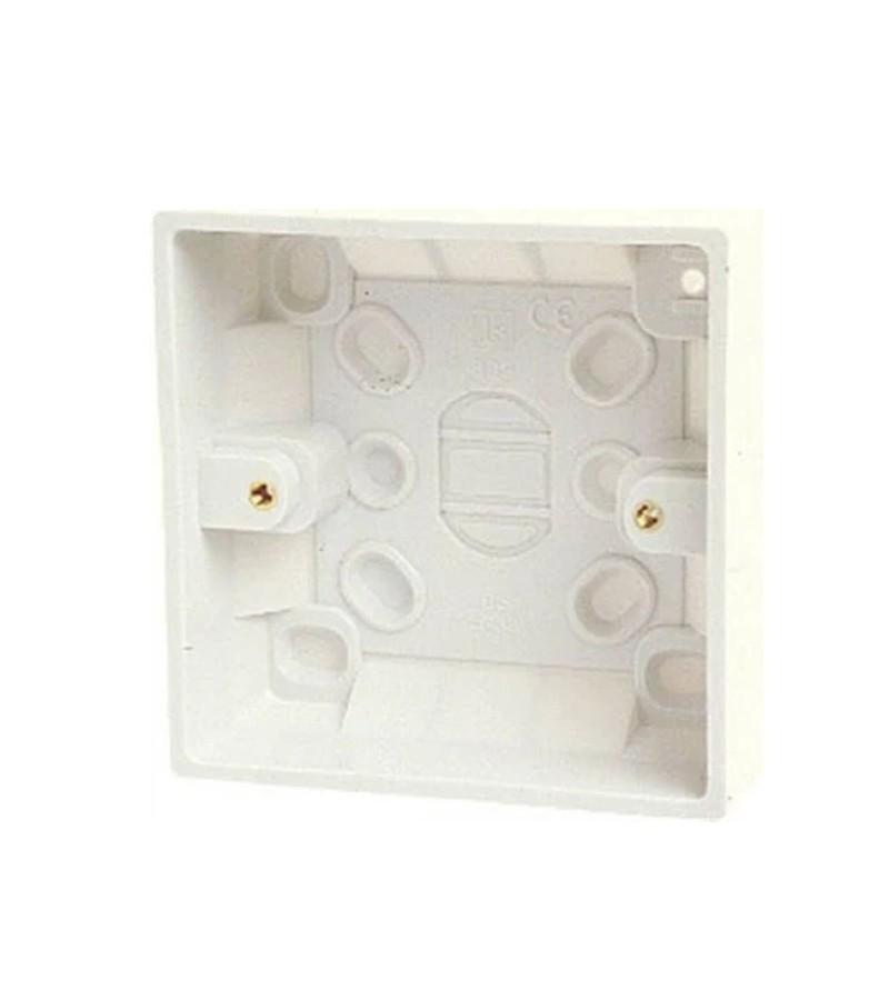 Dencon 1G 45mm Pattress Box (8901NB)