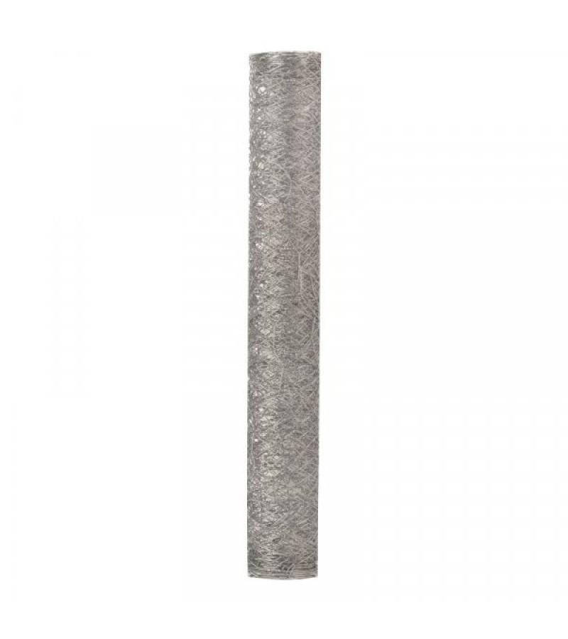 Galvanised Wire Netting 50mm, 0.5x5m