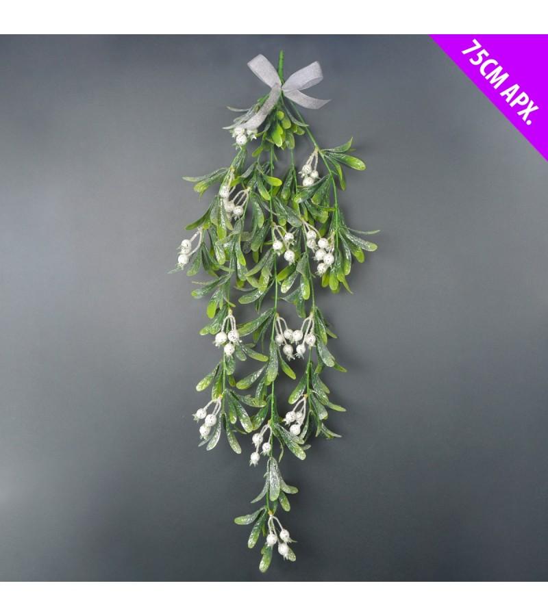 Christmas Mistletoe Bunch 75cm