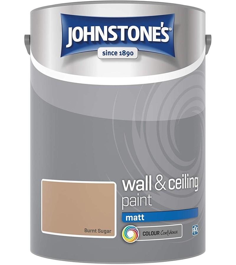 Johnstones Vinyl Emulsion Paint 5L Burnt Sugar (Matt)