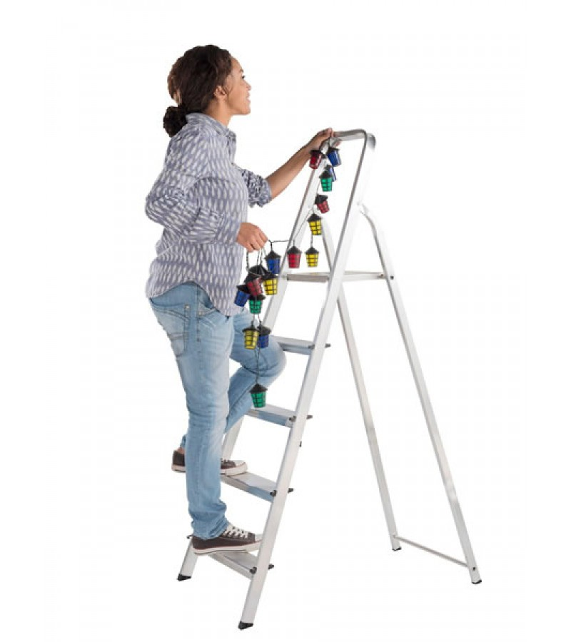 ABRU Arrow Aluminium 5 Tread Step Ladder