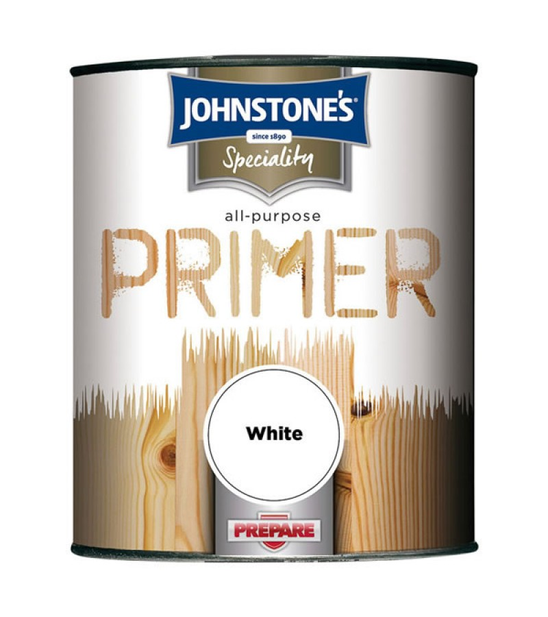 Johnstones All Purpose Primer 750ml White
