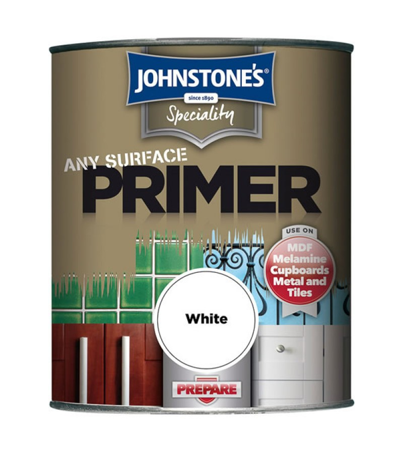 Johnstones Any Surface Primer 750ml White
