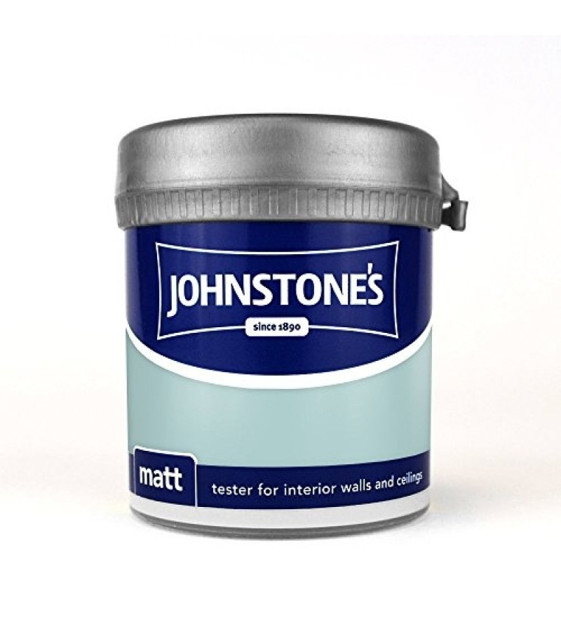 Johnstones Vinyl Emulsion Tester Pot 75ml Aqua (Matt)