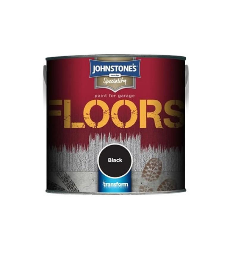 Johnstone's Garage Floor Paint 2.5L Black