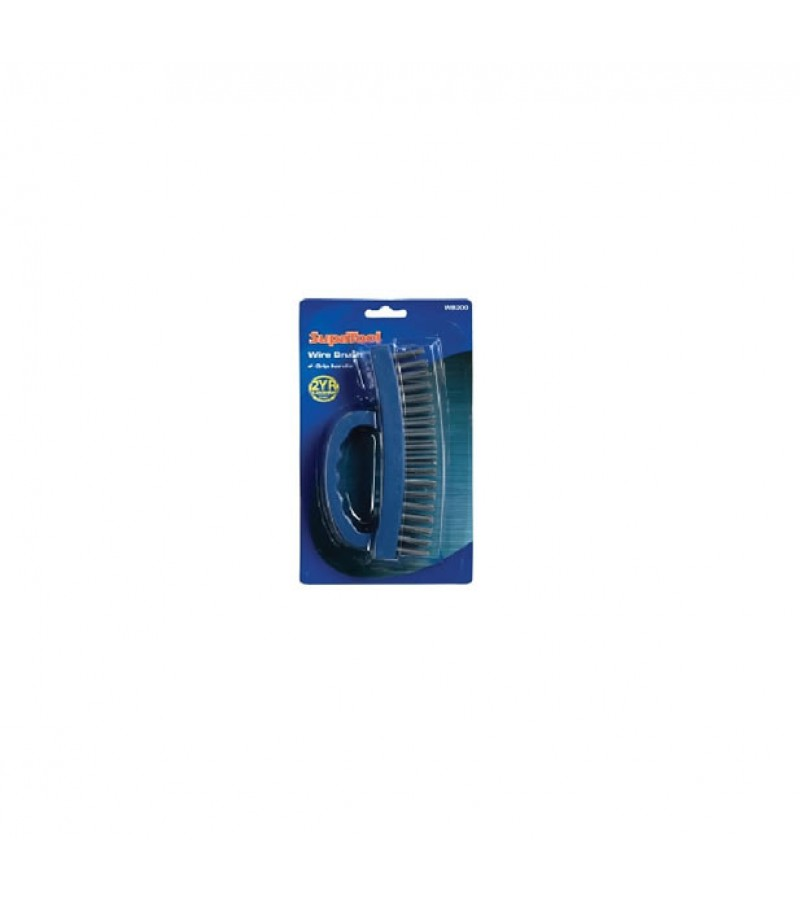 Supatool Wire Brush With Grip Handle