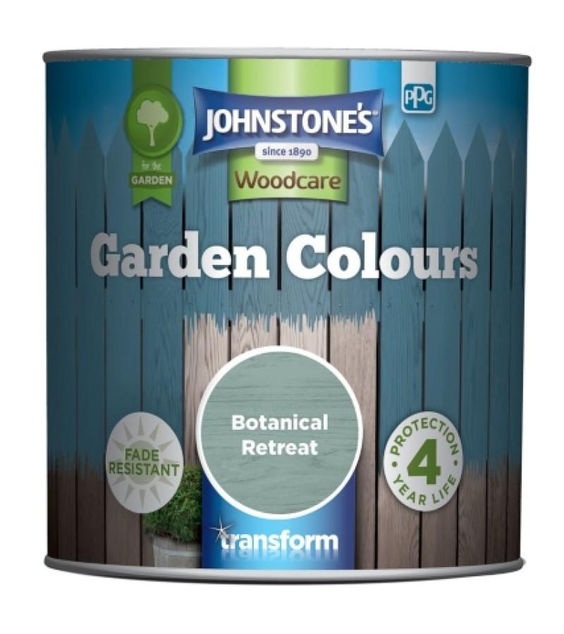 Johnstones Garden Colours Paint 1L Botanical Retreat