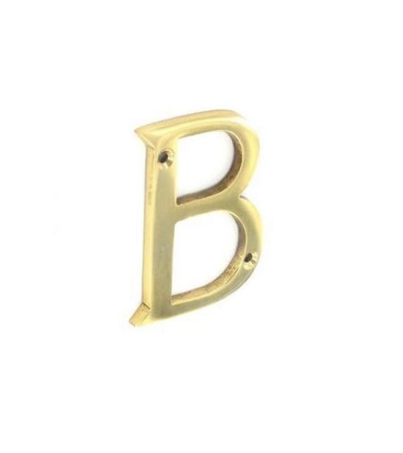 Securit S2511 Brass Letter B 75mm