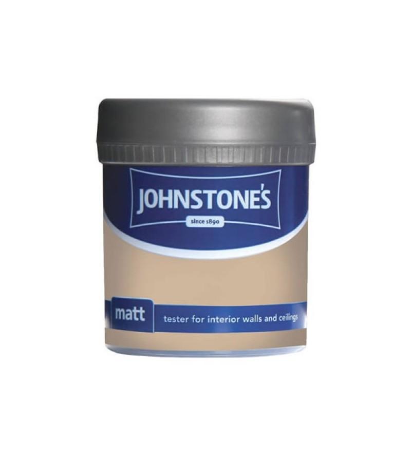 Johnstones Vinyl Emulsion Tester Pot 75ml Brandy Cream (Matt)
