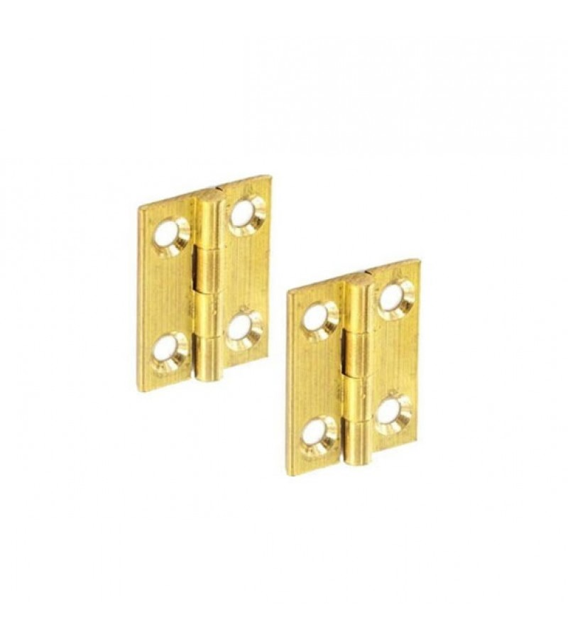 Securit S4203 Brass Butt Hinges 50mm (Pair)