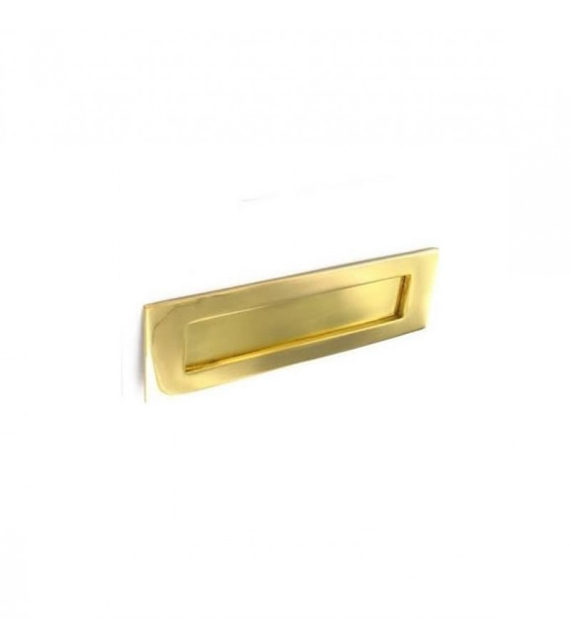 Securit S2230 250mm Victorian Letter Plate (Brass)