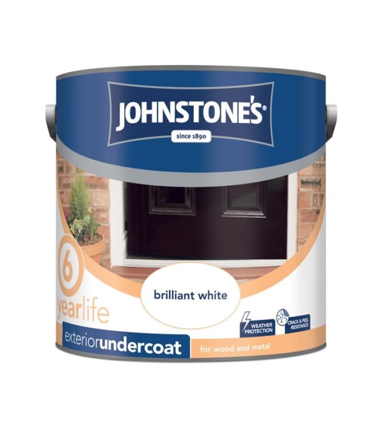 Johnstones Exterior Undercoat 2.5L Brilliant White