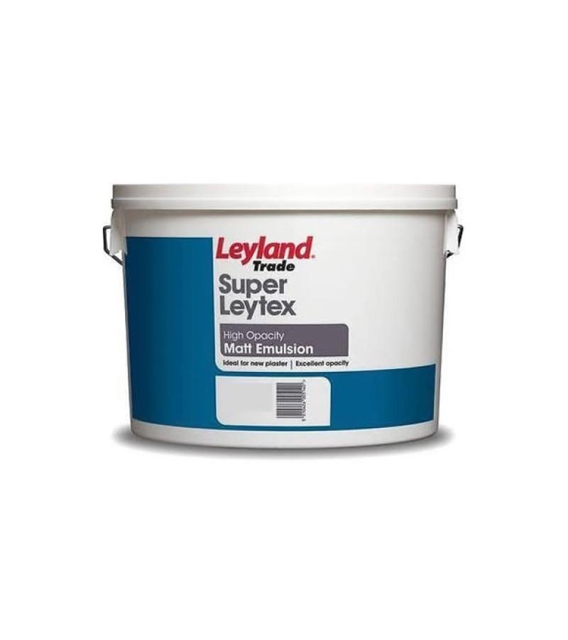 Leyland Super Leytex Emulsion Paint 15L Brilliant White (Matt)