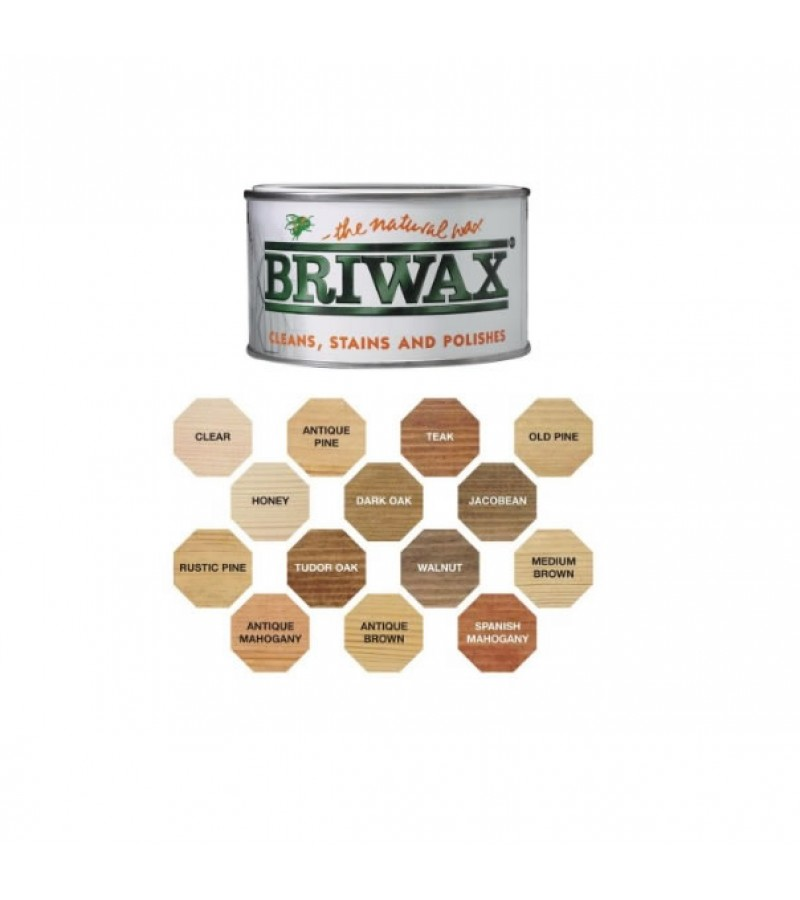 Briwax Original Wax Polish 400g Antique Mahogany