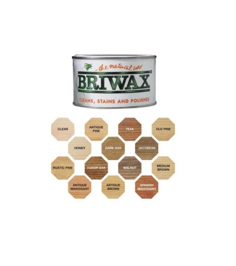 Briwax Original Wax Polish 400g Clear