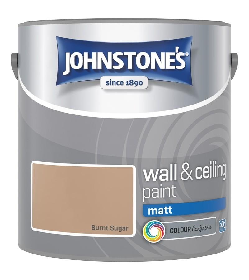 Johnstones Vinyl Emulsion Paint 2.5L Burnt Sugar Matt