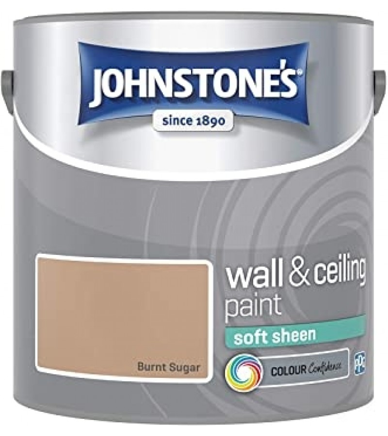 Johnstones Vinyl Emulsion Paint 5L Burnt Sugar (Soft Sheen)
