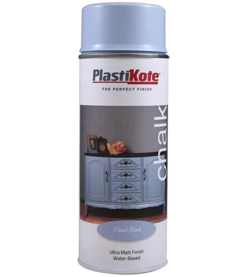 Plastikote Chalk Spray Paint 400ml Frost Blue
