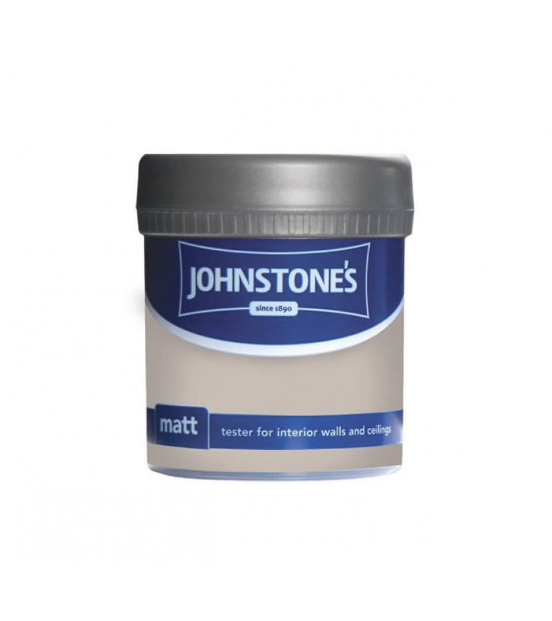 Johnstones Vinyl Emulsion Tester Pot 75ml Chapel Stone (Matt)