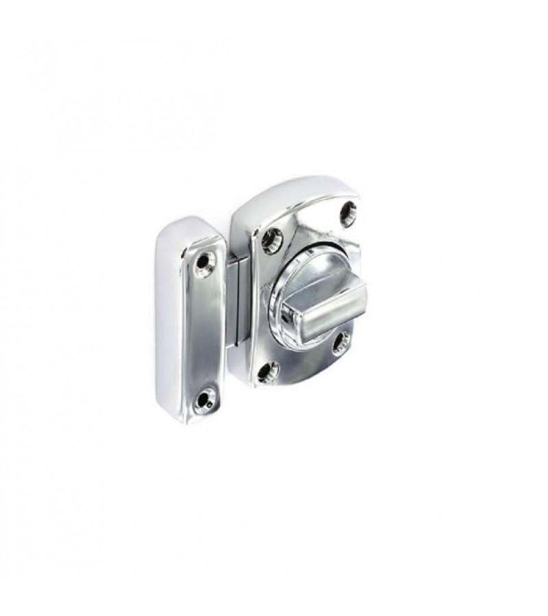 Securit S5456 Chrome Plated Superbolt 40mm x 50mm