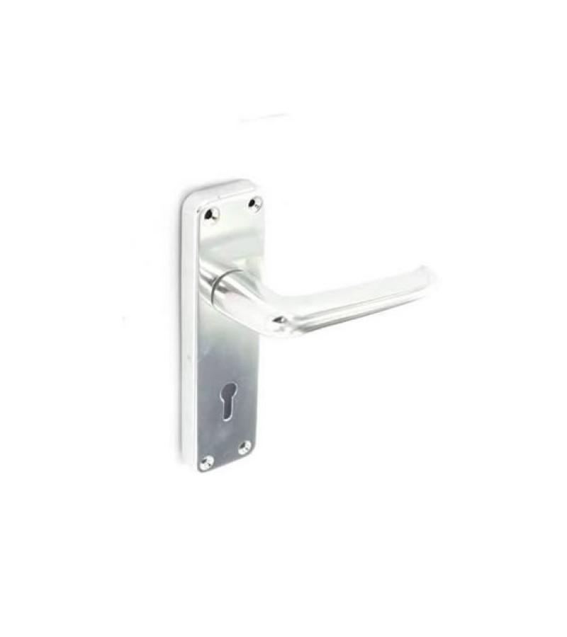 Securit S3104 150mm Aluminium Lock Handles Bradford (Pair)