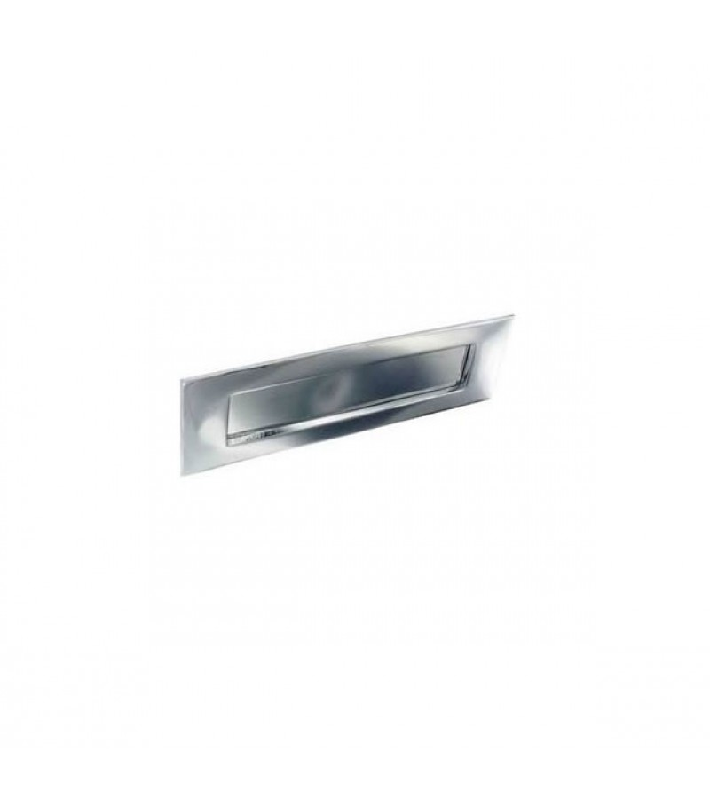 Securit S2930 250mm Victorian Letter Plate (Chrome)