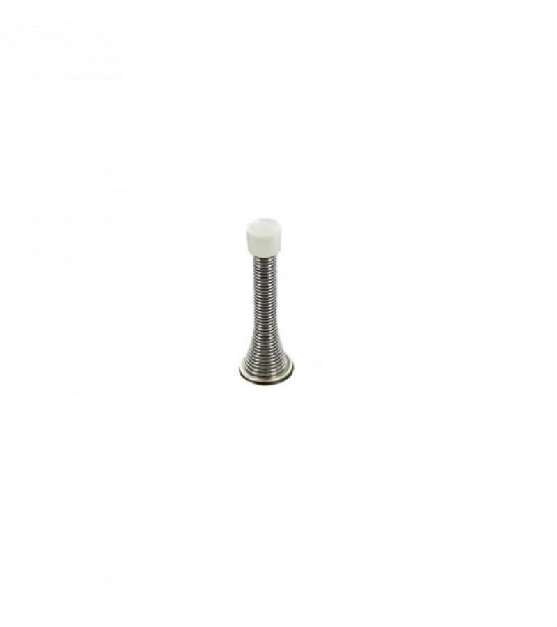 Securit S2987 75mm Spring Door Stop (Chrome Plated)