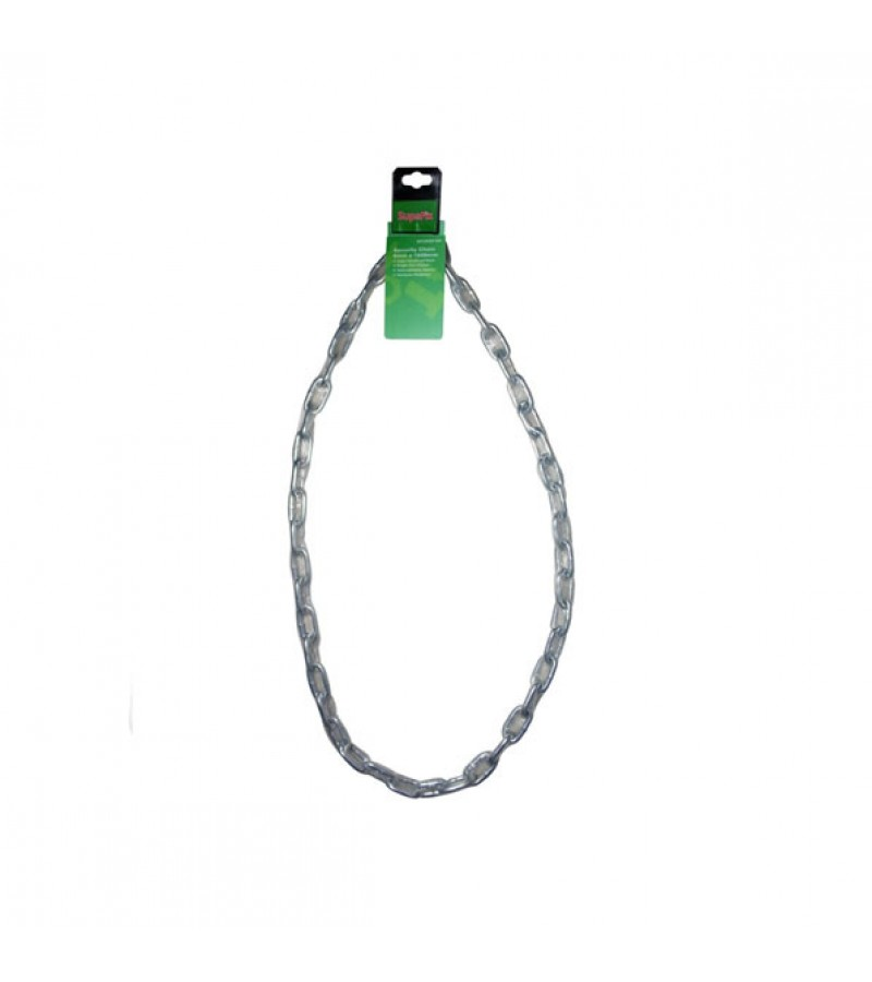 Supafix Welded Clear Sleeved Chain Zinc Plated 1500mm