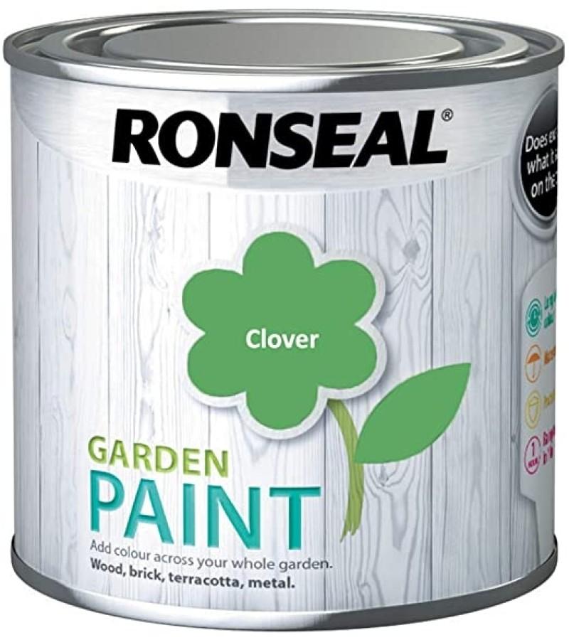 Ronseal Garden Paint 250ml Clover