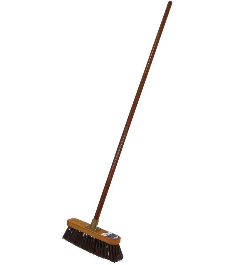 "Country Man 12"" Stiff PVC Brooms"
