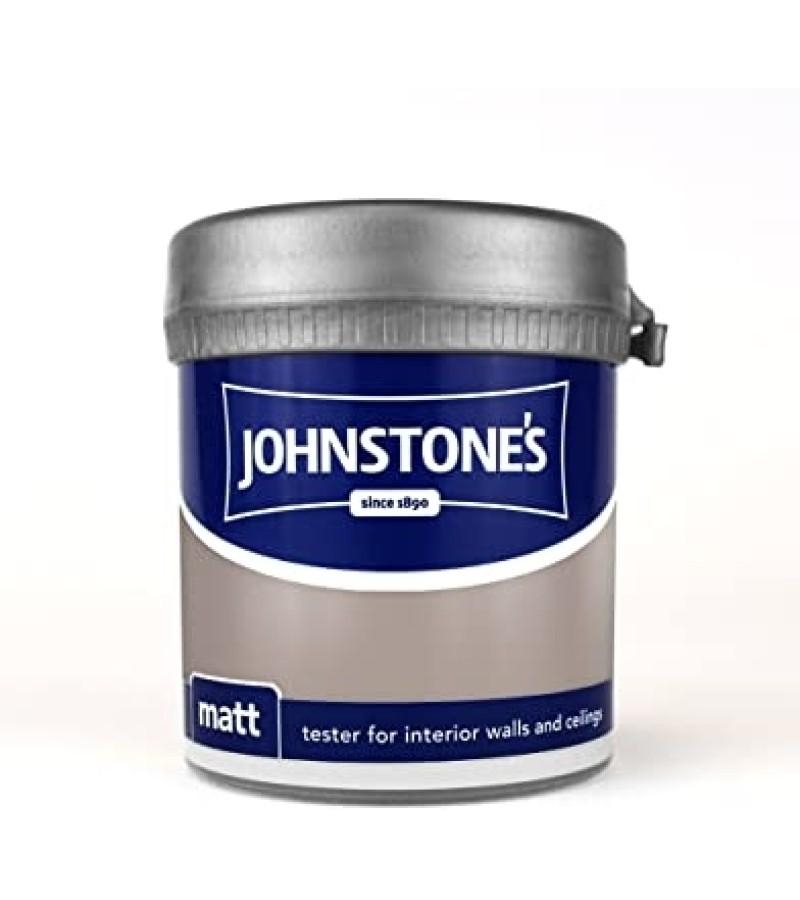 Johnstones Vinyl Emulsion Tester Pot 75ml Coffee Cream (Matt)
