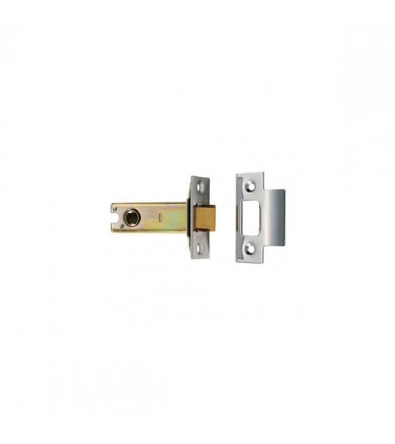 Securit S1931 Brass Plated Mortice Latch Bolt-Through 75mm