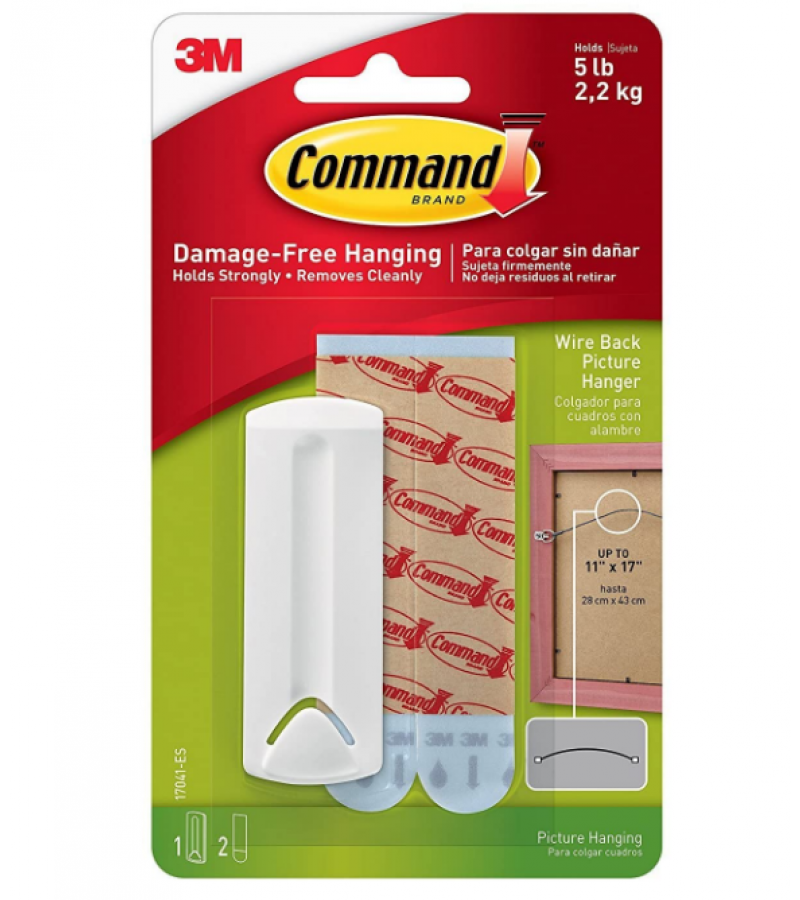 Command 3M Wire Back Picture Hanger 17041