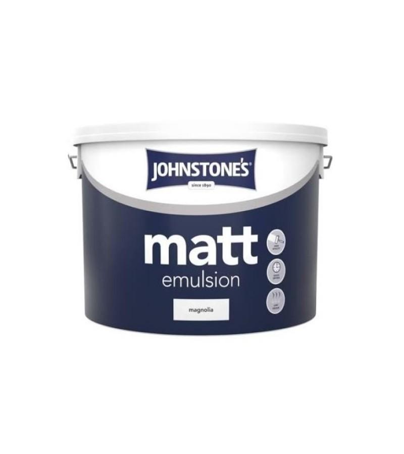 Johnstones Vinyl Emulsion Paint 10L Magnolia (Matt)